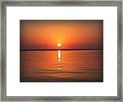 Framed Print featuring the photograph Known Serenity by Joetta Beauford