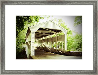 Knox Bridge Framed Print
