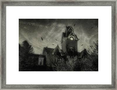 Knox County Poorhouse Framed Print by Tom Mc Nemar