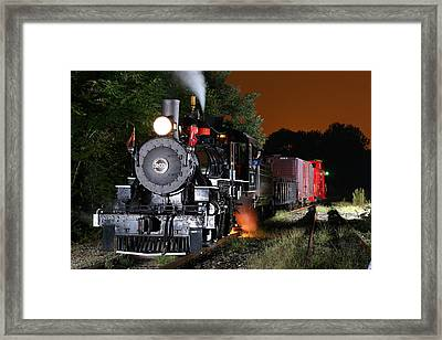 Knoxville Steam Framed Print