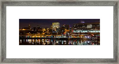 Knoxville Waterfront Framed Print