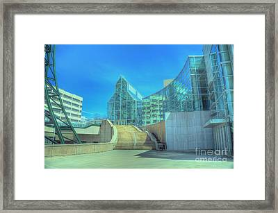 Knoxvillle Tn Convention Center Framed Print