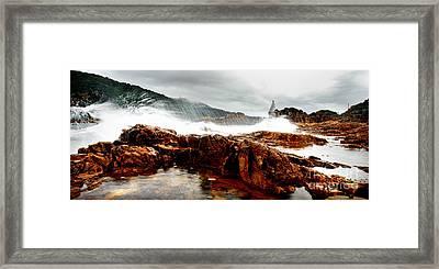 Knysna Lagoon Framed Print