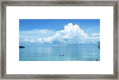Ko Chang - Thailand Framed Print by Andrea Anderegg