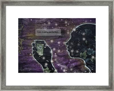 Kobe Bryant I Framed Print by Sam Lea
