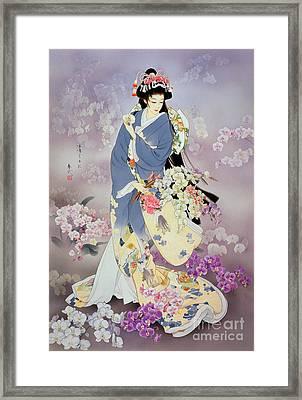 Kochouran Framed Print by Haruyo Morita