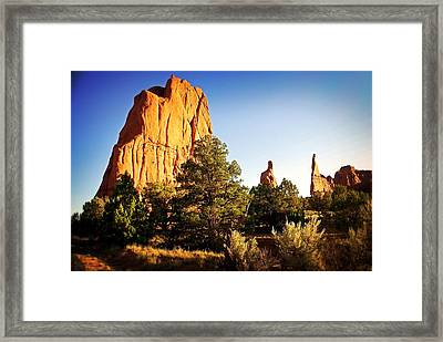 Kodachrome Basin 2 Framed Print