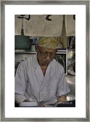 Kodachrome Noodles Framed Print by David Bearden
