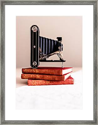 Kodak Art Deco 620 Camera Framed Print