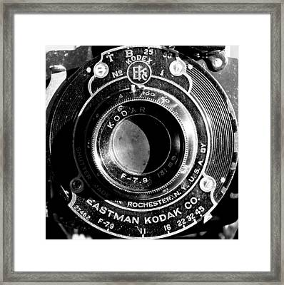 Kodak Brownie 2 Framed Print
