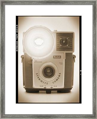 Kodak Brownie Starmite Camera Framed Print