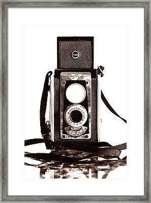 Kodak Duaflex Iv Camera Framed Print by Jon Woodhams