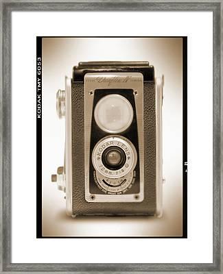 Kodak Duaflex Iv Camera Framed Print