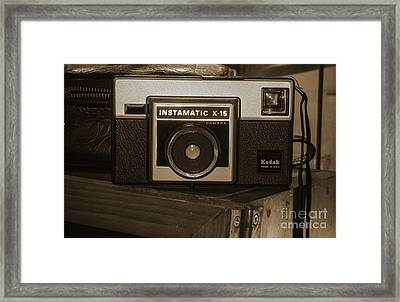 Kodak Instamatic Framed Print