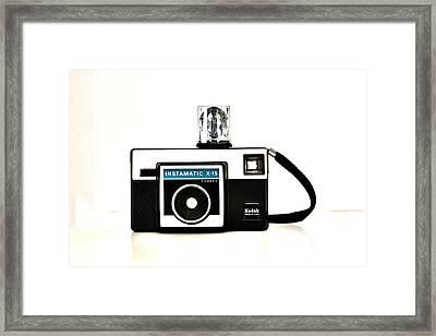 Kodak Instamatic X 15 Framed Print