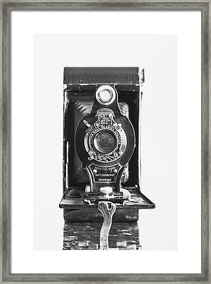 Kodak No. 2 Folding Autographic Brownie Camera Framed Print by Jon Woodhams