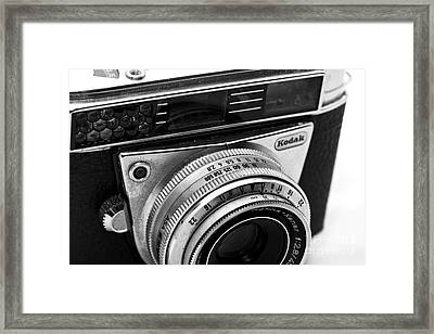 Kodak Retina Camera Framed Print by John Rizzuto