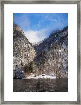 Koenigsee Framed Print