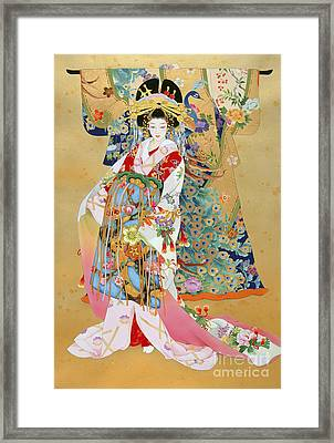 Kogane Framed Print