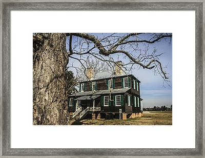 Koger House Backside Framed Print by Steven  Taylor