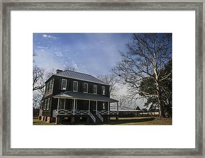 Koger House Framed Print by Steven  Taylor