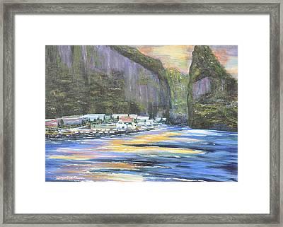 Koh Panyee Island Framed Print