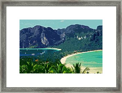 Koh Phi Phi ... Framed Print by Juergen Weiss