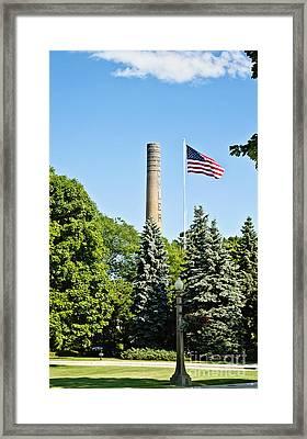 Kohler Framed Print by Scott Pellegrin