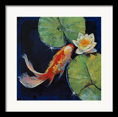 Droplet Paintings Framed Prints