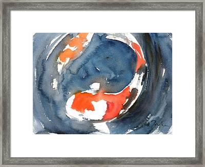 Koi Fish No.4 Framed Print