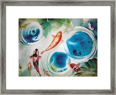 Koi Ohana Framed Print by Wendy Wiese