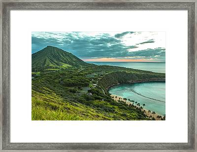 Koko Head Crater And Hanauma Bay 1 Framed Print
