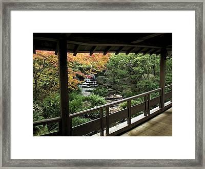 Kokoen Garden - Himeji City Japan Framed Print by Daniel Hagerman