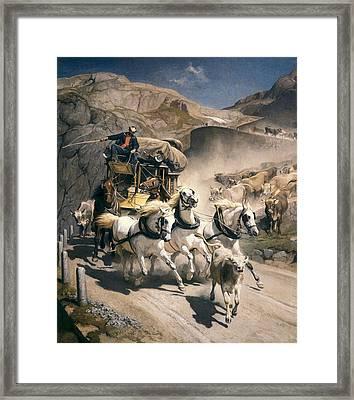 Koller, Rudolf 1828-1905 Koller, Rudolf Framed Print
