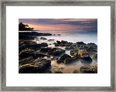 Koloa Sunrise Dream Framed Print