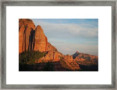 Kolob Framed Print