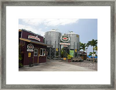 Kona Brewing Company Framed Print