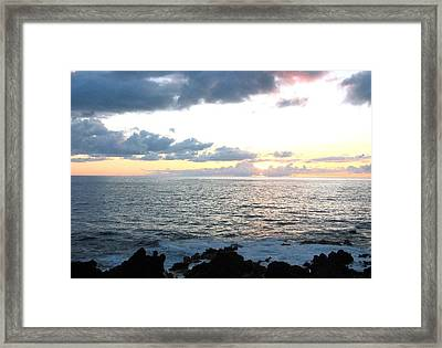 Kona  North Framed Print
