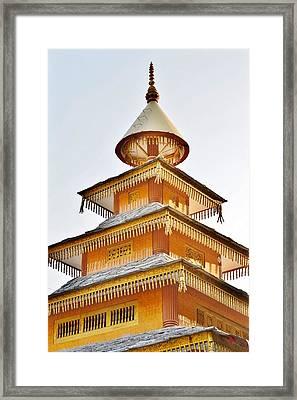 Kondar Devata Temple Framed Print by Kim Bemis