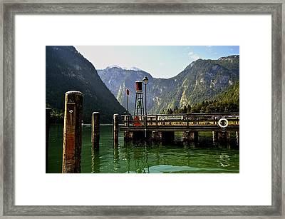 Konigssee Germany Framed Print by Marty  Cobcroft