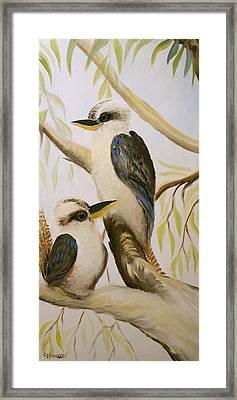 Kooka Duo Framed Print