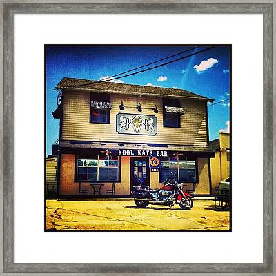 Kool Kats Bar New Orleans Framed Print
