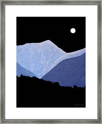 Kootenay Mountains Framed Print