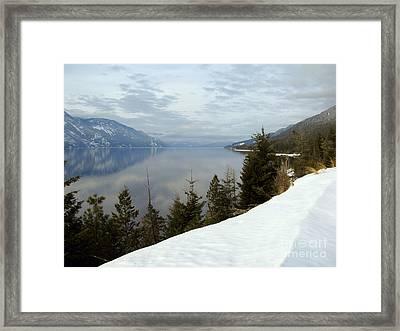 Kootenay Paradise Framed Print