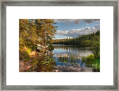 Koppom Sweden Framed Print by Caroline Pirskanen