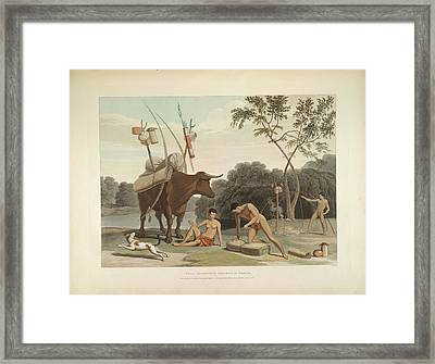 Korah Hottentots Framed Print by British Library