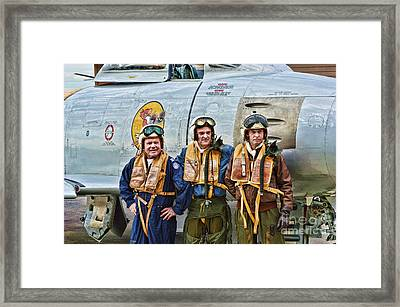 Korea 1951 Framed Print by Tommy Anderson