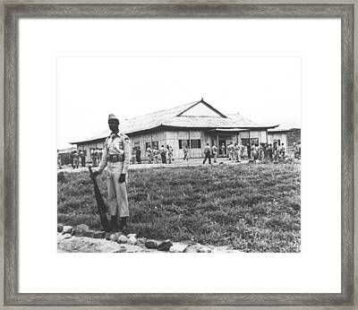 Korean Armistice Building Framed Print