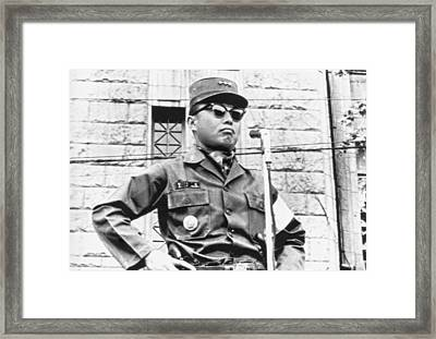 Korean Military Junta Ruler Framed Print by Underwood Archives