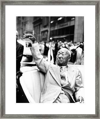 Korean President Syngman Rhee Framed Print by Underwood Archives